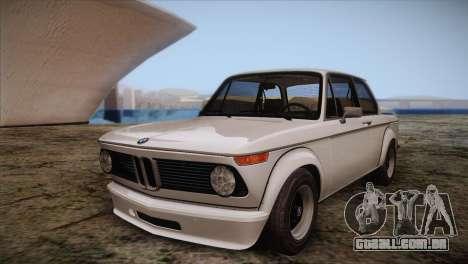 BMW 2002 1973 para GTA San Andreas
