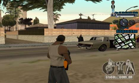 C-HUD One Of The Legends Ghetto para GTA San Andreas segunda tela