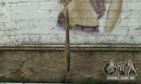 A faca de Skyrim para GTA San Andreas
