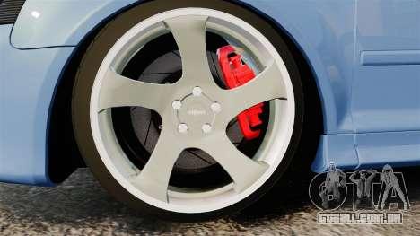 Audi S3 EmreAKIN Edition para GTA 4 vista de volta