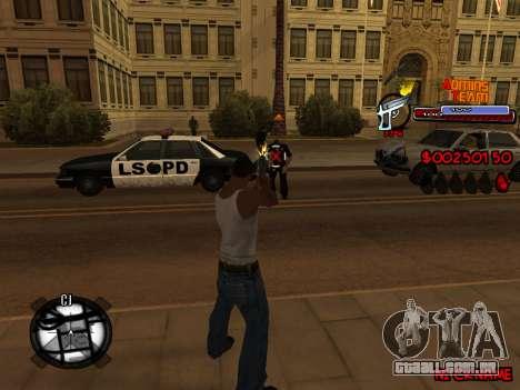 C-HUD Admins Team para GTA San Andreas oitavo tela