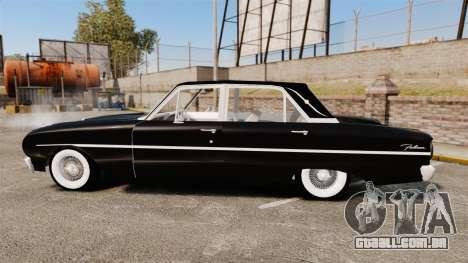 Ford Falcon 1963 para GTA 4 esquerda vista