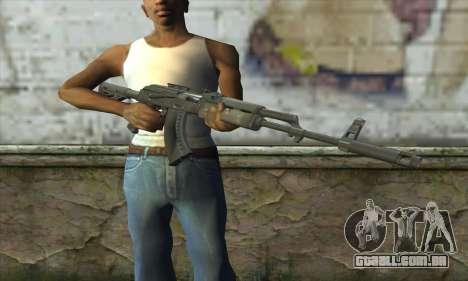 AKM - 47 para GTA San Andreas terceira tela
