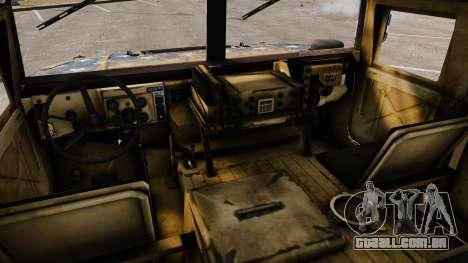 HMMWV M1114 Freedom para GTA 4 vista de volta