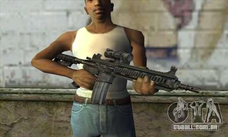 HK416 para GTA San Andreas terceira tela
