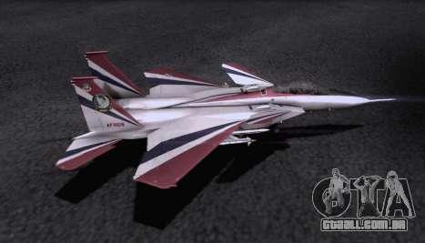 F-15S para GTA San Andreas vista superior