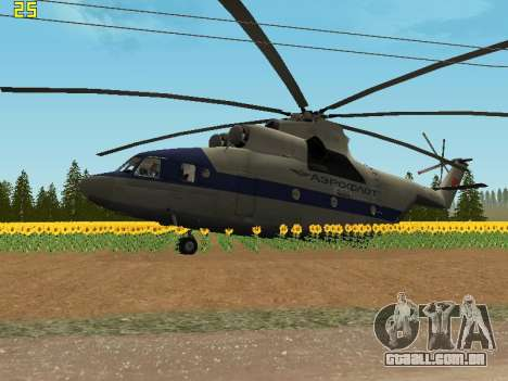 Mi 26 Civil para GTA San Andreas