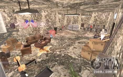 O porão da casa de Carl para GTA San Andreas segunda tela