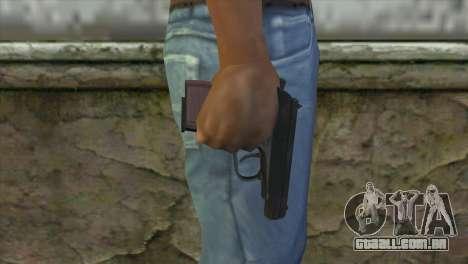Makarov Pistol para GTA San Andreas terceira tela