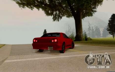 Elegy Tokyo para GTA San Andreas esquerda vista