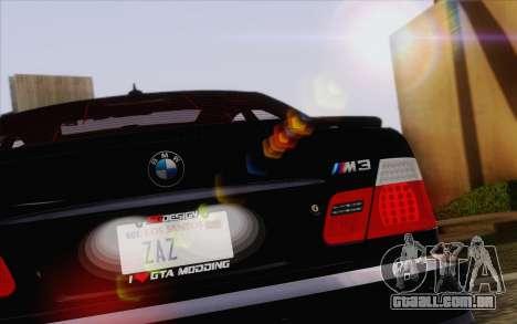 IMFX Lensflare v2 para GTA San Andreas sexta tela