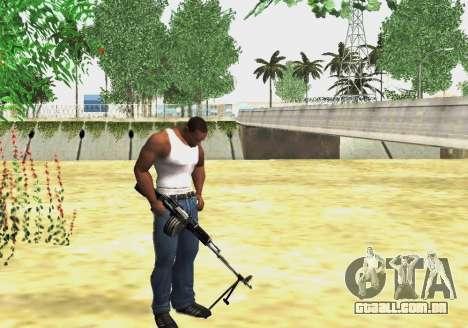 RPK-203 para GTA San Andreas terceira tela