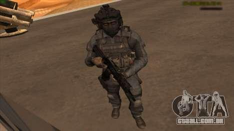 Sgt Keegan P.Russ из Call Of Duty: Ghosts para GTA San Andreas