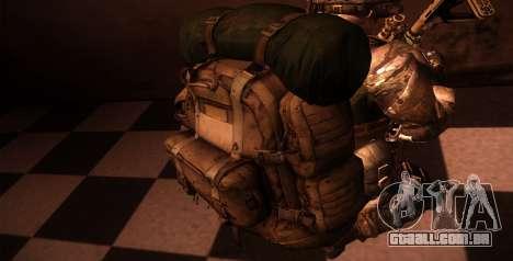 Рюкзак из MOH Warfighter para GTA San Andreas quinto tela