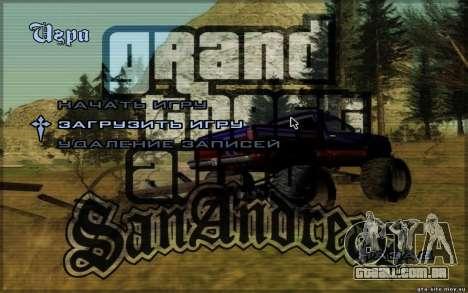 Menus HD para GTA San Andreas segunda tela