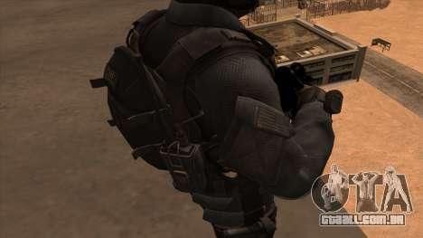 Sgt Keegan P.Russ из Call Of Duty: Ghosts para GTA San Andreas sexta tela