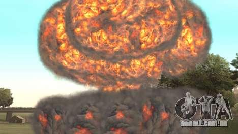 Ataque Nuclear para GTA San Andreas terceira tela