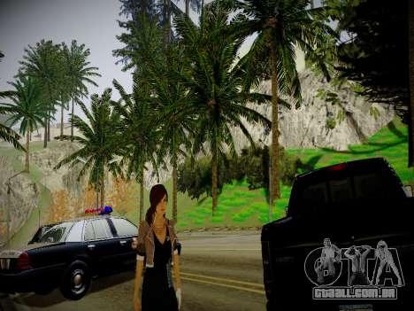 New Vinewood Realistic v2.0 para GTA San Andreas por diante tela
