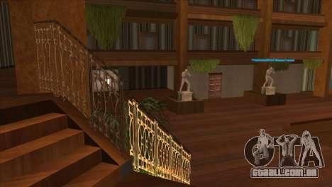 Textura Artium para GTA San Andreas por diante tela