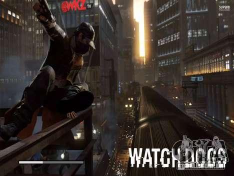 Arranque telas e menus de Watch Dogs para GTA San Andreas oitavo tela