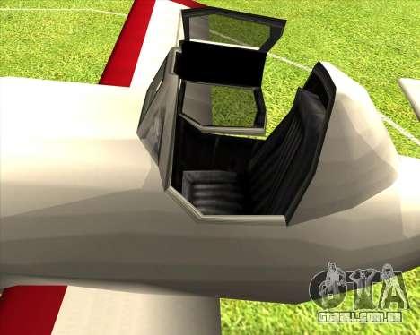 CD-38 mod.LP para GTA San Andreas vista traseira