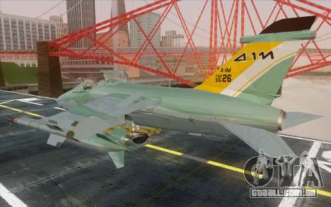 A-1M AMX para GTA San Andreas esquerda vista
