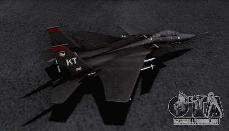 F-15S para GTA San Andreas vista direita