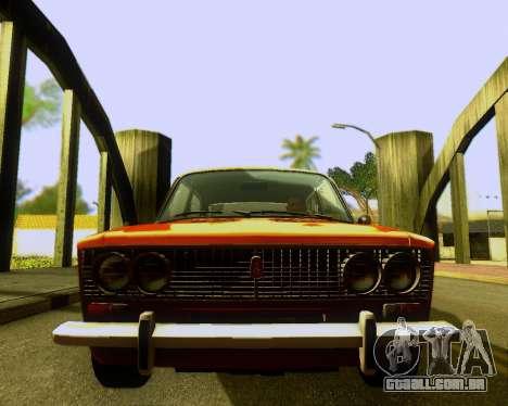 VAZ 2103 Tuneable para GTA San Andreas vista interior