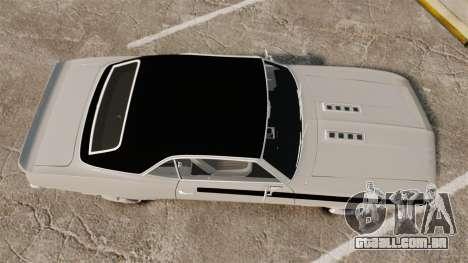 Chevrolet Camaro SS para GTA 4 vista direita