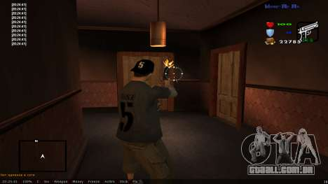 CLEO Skill for 0.3z new version para GTA San Andreas segunda tela