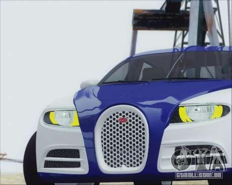 Bugatti Galibier 16c Final para GTA San Andreas vista direita