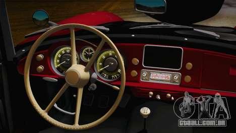 BMW 507 1959 Stock para GTA San Andreas vista direita