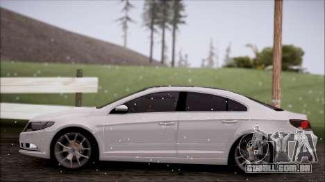 Volkswagen Passat CC para GTA San Andreas traseira esquerda vista