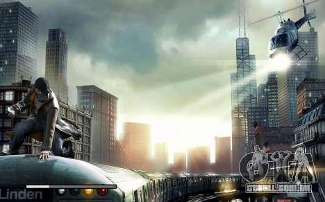 Arranque telas e menus de Watch Dogs para GTA San Andreas sexta tela