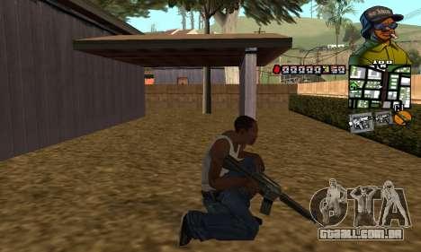 C-HUD Rider para GTA San Andreas terceira tela