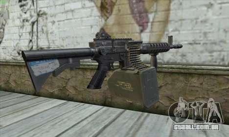M4 Gunner para GTA San Andreas segunda tela