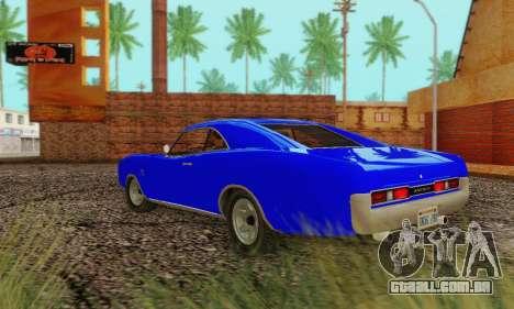 GTA 4 Imponte Dukes V1.0 para GTA San Andreas vista direita