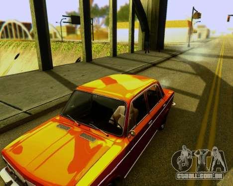 VAZ 2103 Tuneable para GTA San Andreas vista traseira