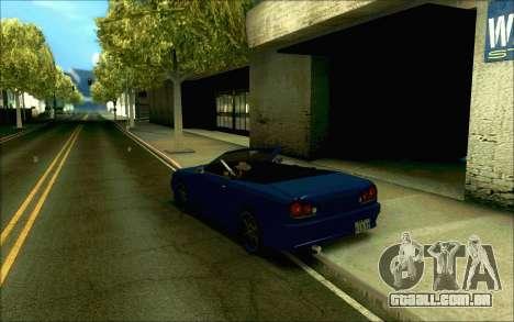 Elegia Tóquio Conversível para GTA San Andreas vista direita