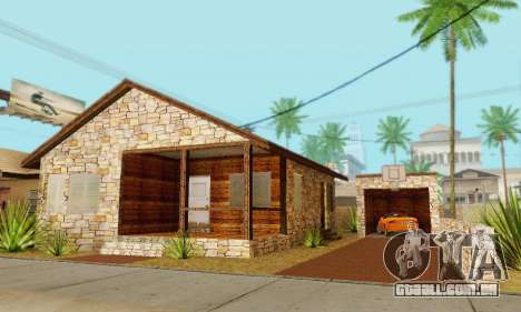 Nova casa do big Smoke para GTA San Andreas sétima tela