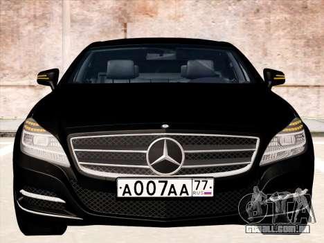 Mercedes-Benz CLS350 2012 para GTA San Andreas esquerda vista