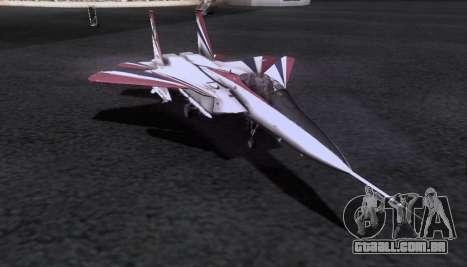F-15S para vista lateral GTA San Andreas
