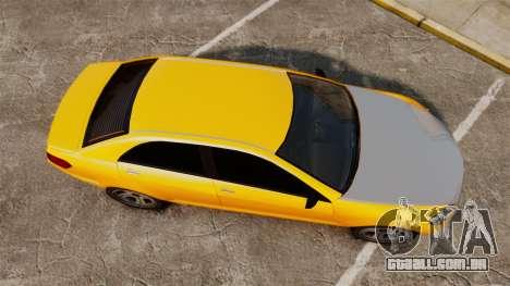 Benefactor Schafter 2014 para GTA 4 vista direita