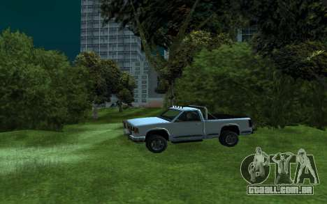 Yosemite Hunter para GTA San Andreas esquerda vista