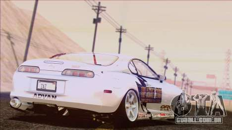Toyota Supra 1998 Top Secret para GTA San Andreas interior
