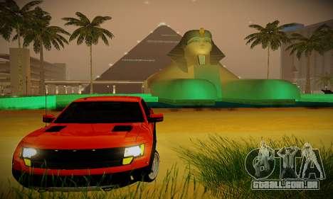 ENBSeries para PC fraco para GTA San Andreas segunda tela