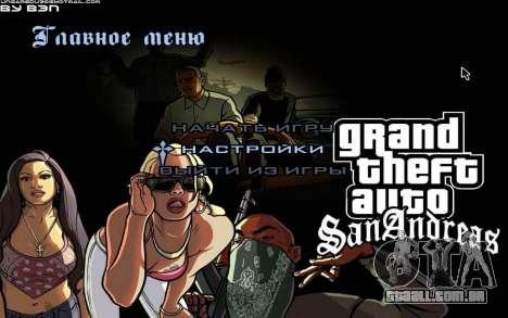 Menus HD para GTA San Andreas