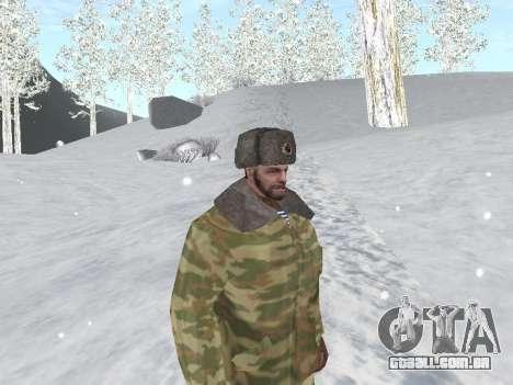 Pak exército russo serviço para GTA San Andreas sétima tela