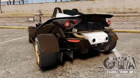 KTM X-Bow R [FINAL] para GTA 4 traseira esquerda vista