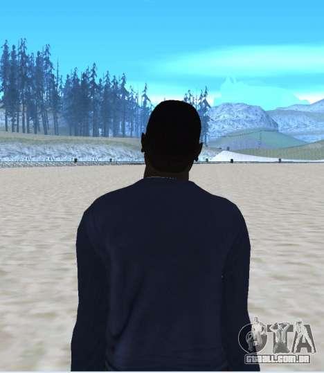 New Maddogg para GTA San Andreas por diante tela